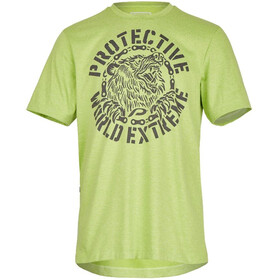 Protective Spirit Bear T-Shirt Herren green